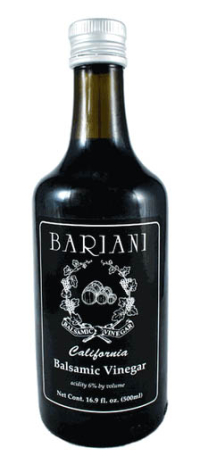 Click to enlarge Balsamic Vinegar, Bariani (500 ml / 16.9 oz, raw, unheated)