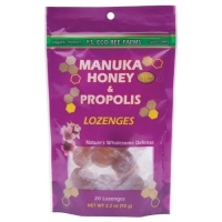 Click to enlarge Lozenges, Manuka Honey and Propolis, YS Organic (20 lozenges, 3.2 oz)