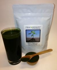 Click to enlarge Thor's Hammer Superfood Powder, Raw Power (8.8 oz, 250 g, pure chlorella/pure spirulina blend)