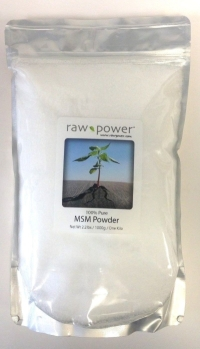 Click to enlarge MSM Powder, 100% pure, Raw Power (ONE KILO/2.2lbs/1000g, made in the USA!)