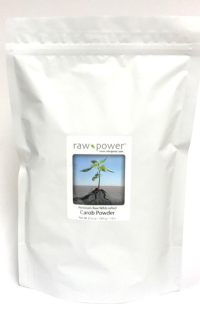 Click to enlarge Carob Powder, Raw Power (KILO / 35.2 oz, premium, raw, wildcrafted)