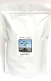 Click to enlarge Carob Powder, Raw Power (KILO / 35.2 oz, premium, raw, wildcrafted)