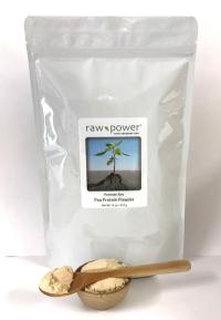 Click to enlarge Pea Protein Powder, Raw Power (16 oz, Premium)