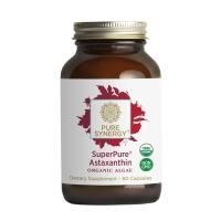 Click to enlarge Astaxanthin, SuperPure Organic Algae, Synergy (60 capsules)