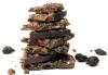 Rawmio Organic Gourmet Sprouted Hazelnut and Fig Raw Chocolate Bark (2 oz / 56g)